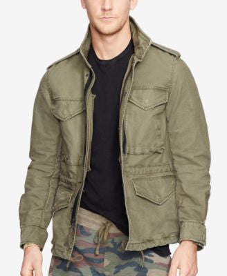 Denim & Supply Ralph Lauren Men's Dobby Field Jacket