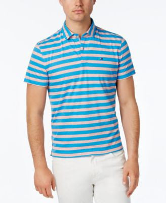 Tommy Hilfiger Men's Emmett Stripe Polo