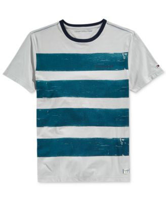 Tommy Hilfiger Men's Catnip Stripe T-Shirt