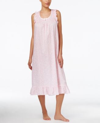 Miss Elaine Ruffle-Trim Nightgown