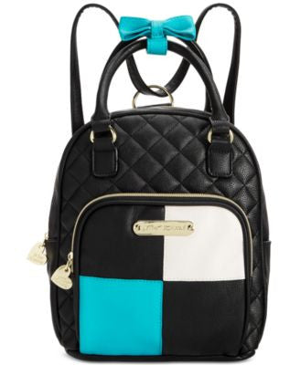 Betsey Johnson Mini Convertible Backpack