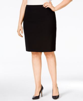 Calvin Klein Plus Size Fit Solutions Pencil Skirt