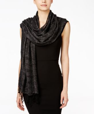 Style & Co. Textured Weave Wrap, Only at Vogily