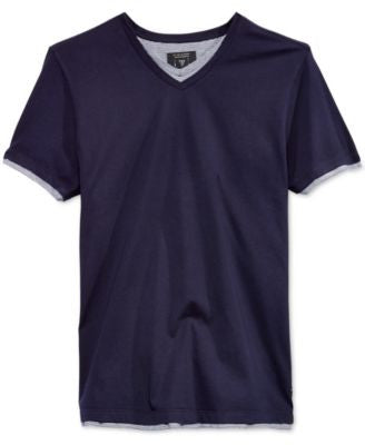 GUESS Men's V-Neck T-Shirt