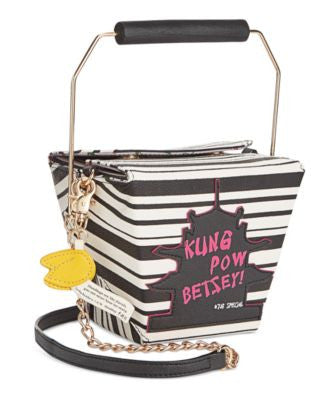Betsey Johnson Chinese Lunchbox Crossbody