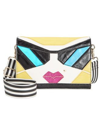 Betsey Johnson Face Crossbody
