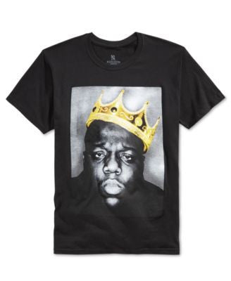 New World Men's Notorious B.I.G. Graphic-Print T-Shirt