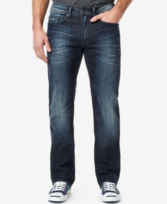 Buffalo David Bitton Men's Driven-X Straight Fit Stretch Jeans