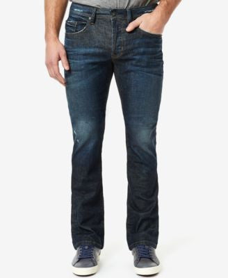 Buffalo David Bitton Men's King-X Slim Bootcut Fit Stretch Jeans