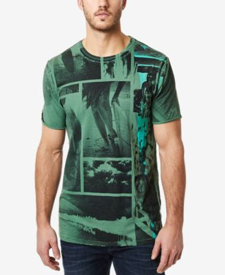 Buffalo David Bitton Men's Natrex Graphic-Print T-Shirt