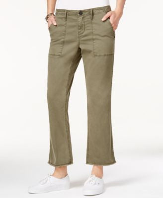 Sanctuary Fatigue Wash Cropped Bootcut Jeans