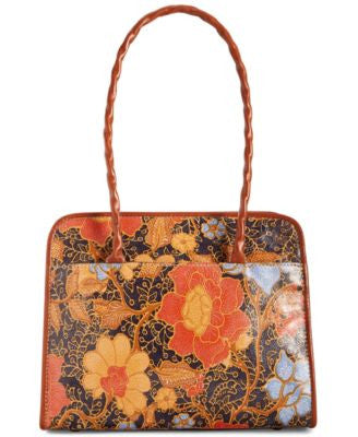 Patricia Nash Paris Large Satchel