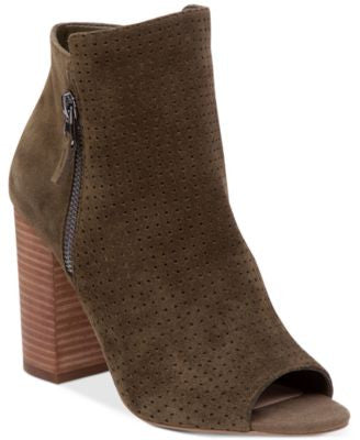 Jessica Simpson Keris Perforated Peep-Toe Booties