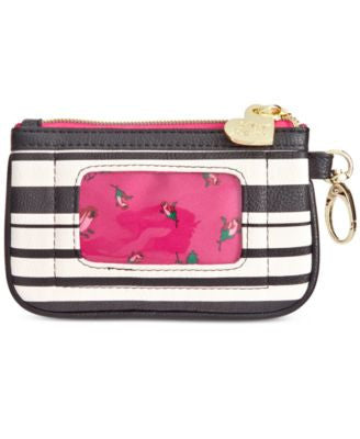 Betsey Johnson Top Zip Coin Purse
