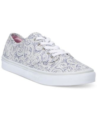 Vans Women's Camden Stripe Lace-Up Sneakers