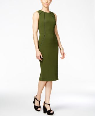 RACHEL Rachel Roy Sleeveless Knit Midi Dress