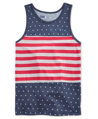 Levi's® Men's American Flag Graphic-Print Tank Top