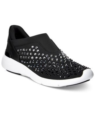 MICHAEL Michael Kors Ace Trainer Embellished Slip-On Sneakers