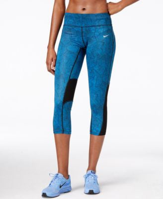 Nike Racer Canopy Print Dri-FIT Running Cropped Leggings