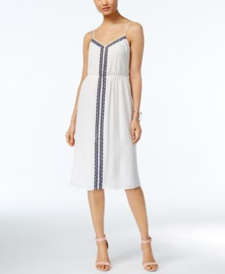 TWO by Vince Camuto Embroidered Dress