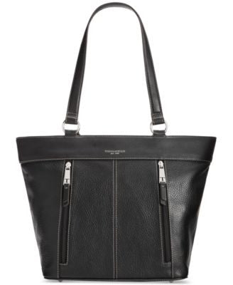 Tignanello Simple Zip Leather Tote