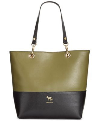 Emma Fox Jutland Leather Colorblocked North South Tote