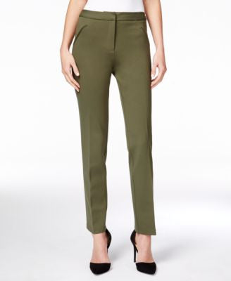 Tahari ASL Bi-Stretch Straight-Leg Pants