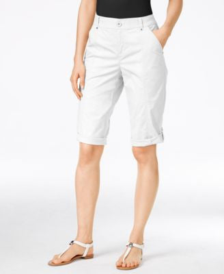 Style & Co. Cuffed Bermuda Shorts, Only at Vogily