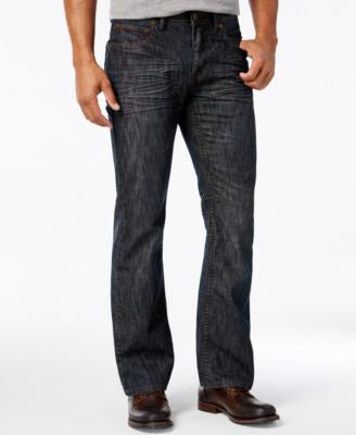 INC International Concepts Men's Owen Bootcut Jeans, Only at Vogily