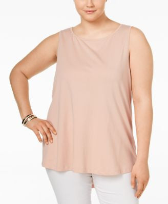 Junarose Plus Size Layered-Back Tank Top