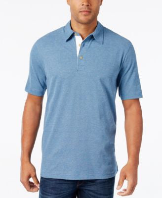 Weatherproof Men's Space-Dye Short-Sleeve Polo