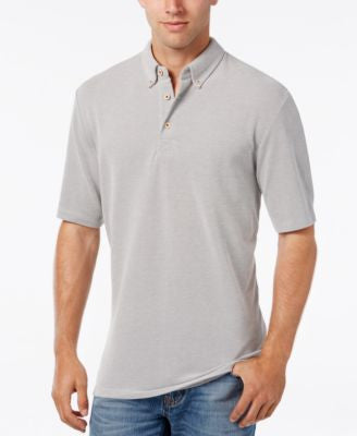 Weatherproof Men's Texture Dobby Polo