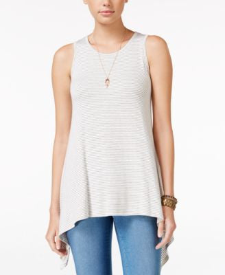 American Rag Handkerchief-Hem Tank Top, Only at Vogily