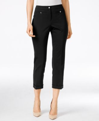 Style & Co. Mid-Rise Cropped Pants, Only at Vogily