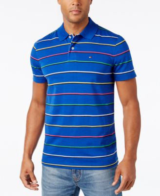 Tommy Hilfiger Men's Logan Striped Polo