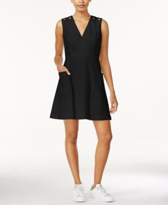 RACHEL Rachel Roy Grommet-Detail A-Line Dress, Only at Vogily