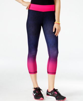 Energie Active Juniors' Justine Cropped Leggings
