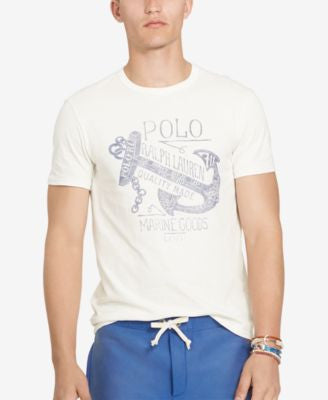 Polo Ralph Lauren Men's Custom-Fit Graphic T-Shirt