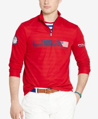 Polo Ralph Lauren Men's Team USA Jersey Pullover
