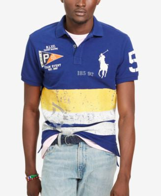 Polo Ralph Lauren Men's Custom-Fit Nautical Polo Shirt