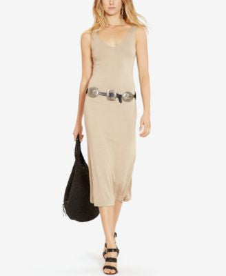 Polo Ralph Lauren Jersey V-Back Dress