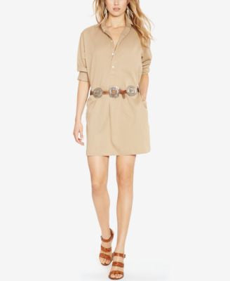 Polo Ralph Lauren Twill Shirtdress