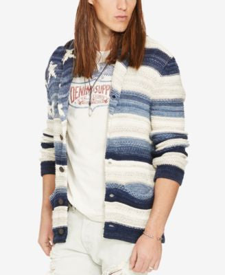 Denim & Supply Ralph Lauren Men's Graphic Cardigan