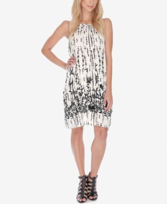 Lucky Brand Sleeveless Embroidered Shift Dress