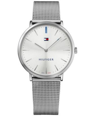 Tommy Hilfiger Men's Sophisticated Sport Stainless Steel Mesh Bracelet Watch 40mm 1781690