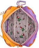Betsey Johnson Googly Eye Peanut Butter Jelly Crossbody