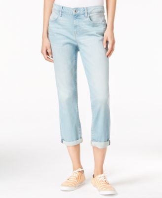Tommy Hilfiger Sonora Straight-Leg Light Wash Jeans