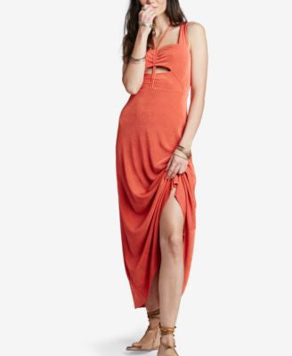 Free People Hypnotized Cutout Maxi Dress
