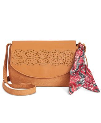 In Awe of You by AwesomenessTV Scarf Crossbody Bag