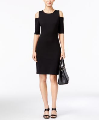 MICHAEL Michael Kors Cold-Shoulder Bodycon Dress